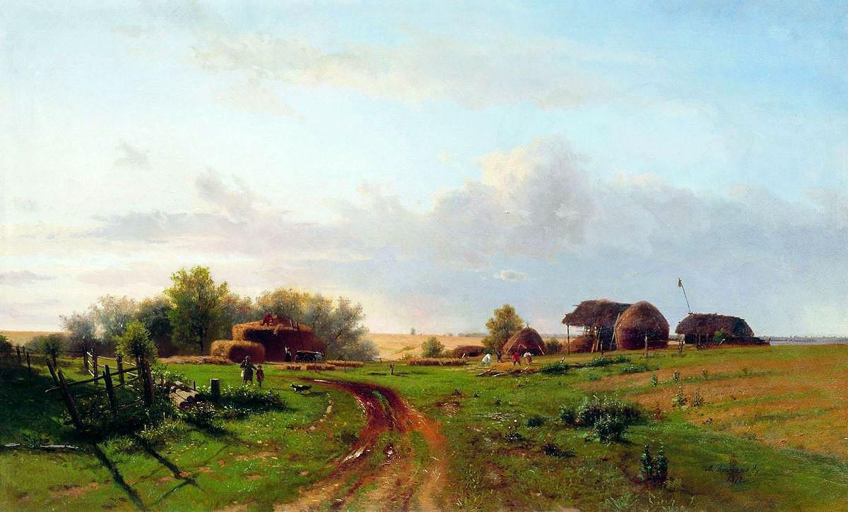 Художник Лев Каменев (1833 – 1886)