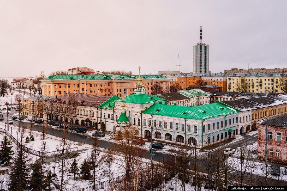 Архангельск с высоты — столица Русского Севера (23 фото)