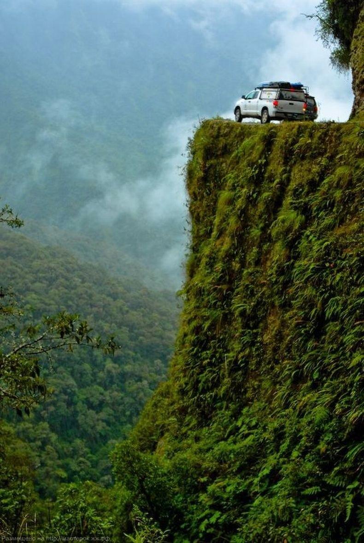 Death Road Photo Op
