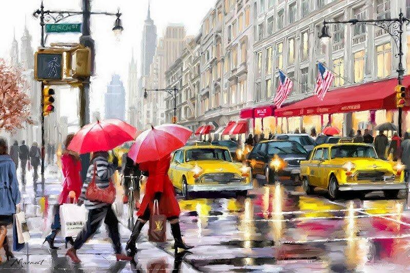 Британский художник Ричард Макнейл (Richard Macneil)
