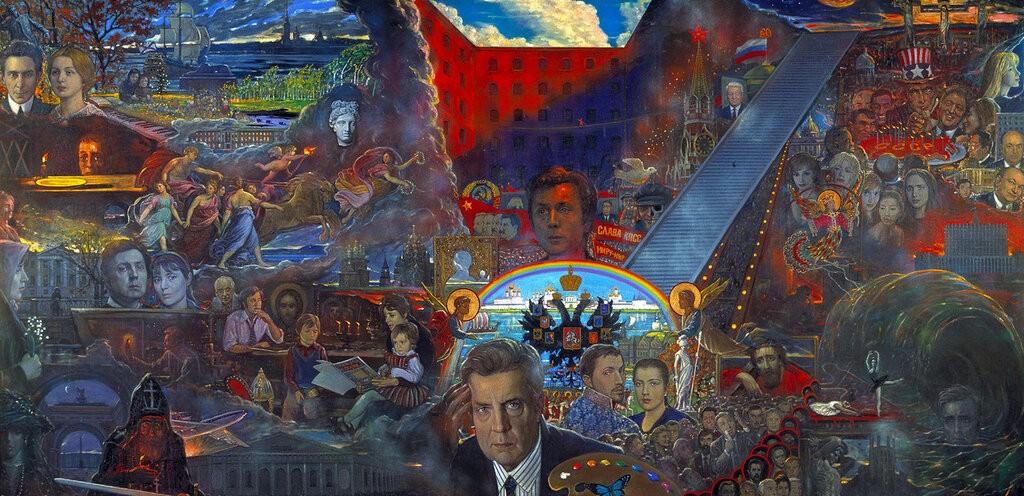 Гигантские картины Ильи Глазунова