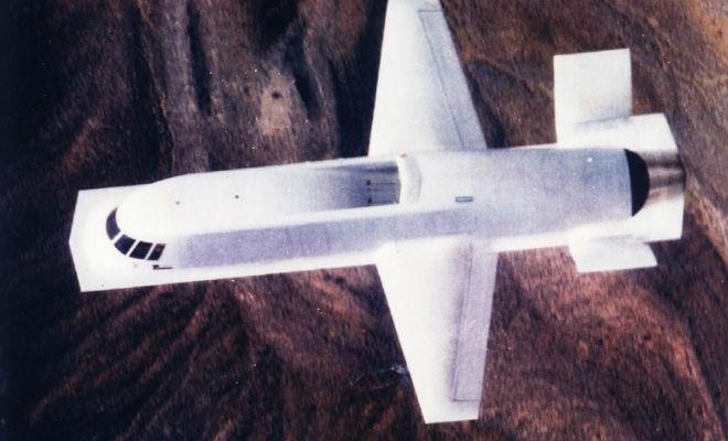 Засекреченный самолет из Зоны-51