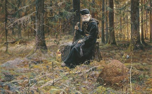 Муравейник (№3 из Триптиха «Покаяние»). 2004 г. Холст, масло.