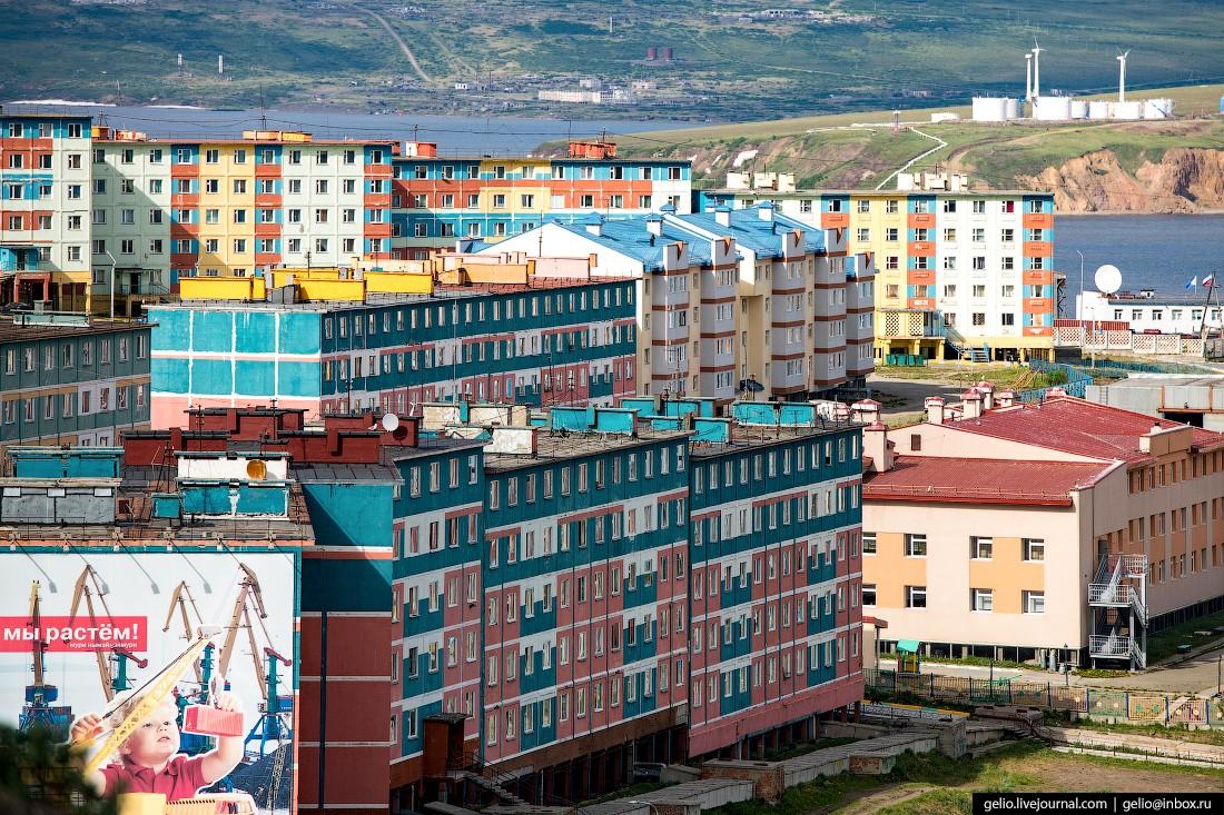 Анадырь с высоты — самый восточный город Росси (20 фото)