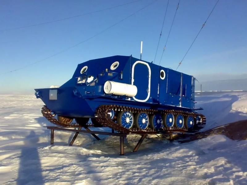 Позабытый покоритель Арктики. Вездеход «Пингвин», созданный за несколько месяцев