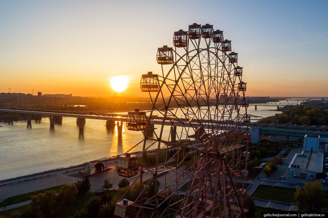 Фотографии Новосибирска с высоты — лето 2019 (65 потрясающих видов на город)