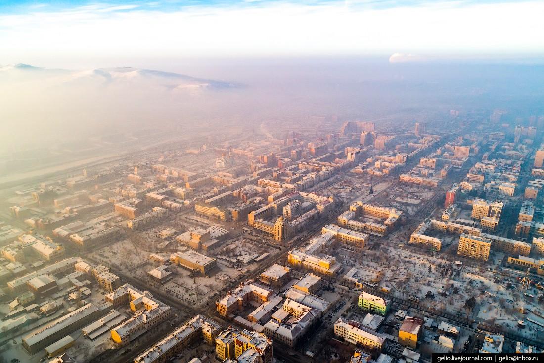 Чита с высоты — город на древнем вулкане (42 фото)