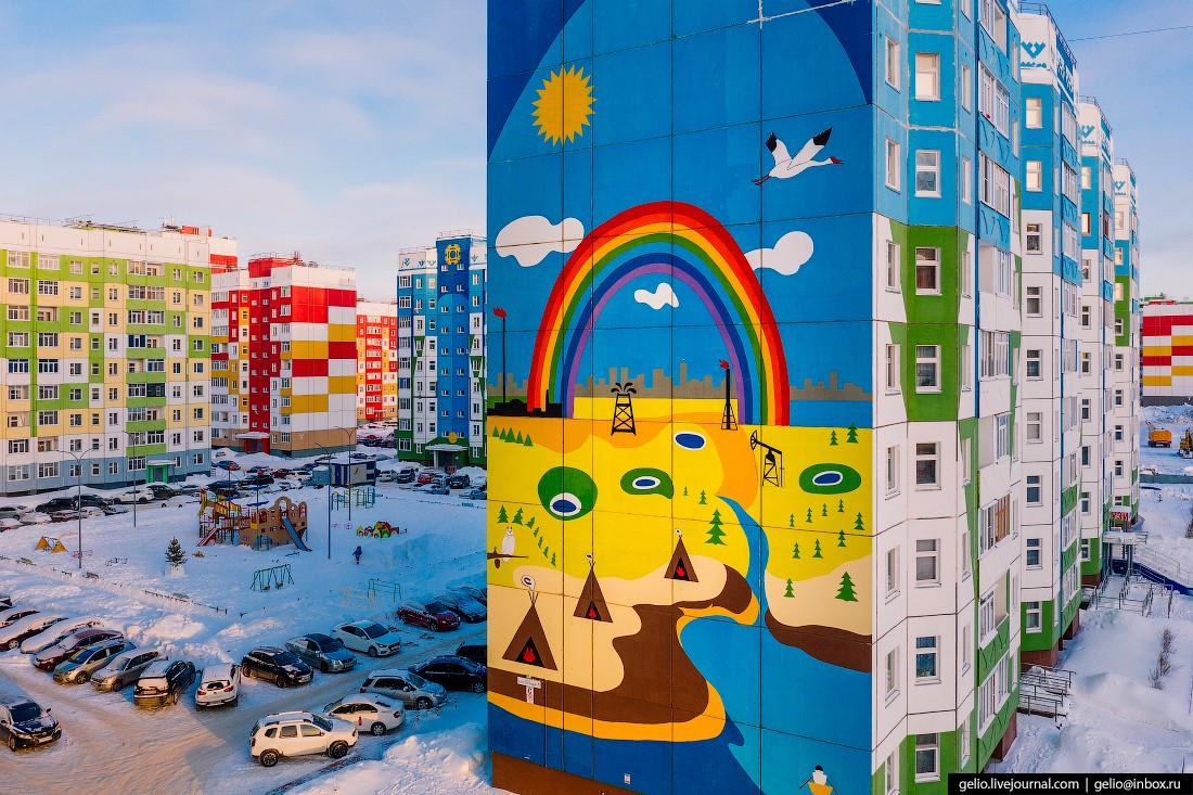 Нижневартовск с высоты — северный город нефтяников (34 фото)