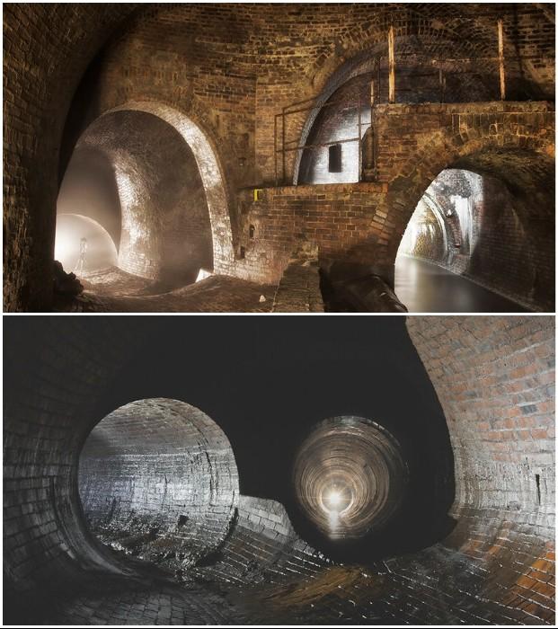 Камеры и туннели, созданные по проекту инженера William Lindley (Лодзь, Польша). | Фото: moya-planeta.ru.