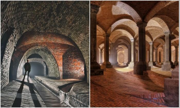 «Подземный собор» и канализационные туннели Лодзи (Польша). | Фото: moya-planeta.ru/ polomedia.ru.