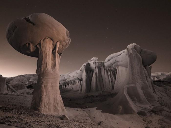 Ночь в пустыне.