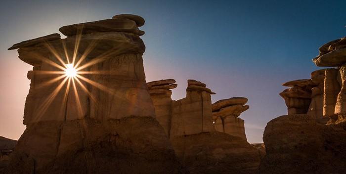 Пустошь в Нью-Мексико.  Фото: Alex Mironyuk.