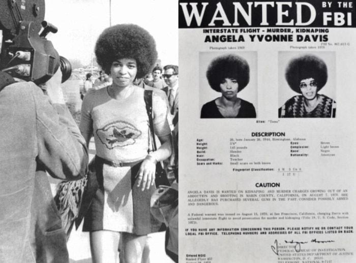 Самая опасная преступница в США в 1970-х | Фото: blackthen.com и april-knows.ru