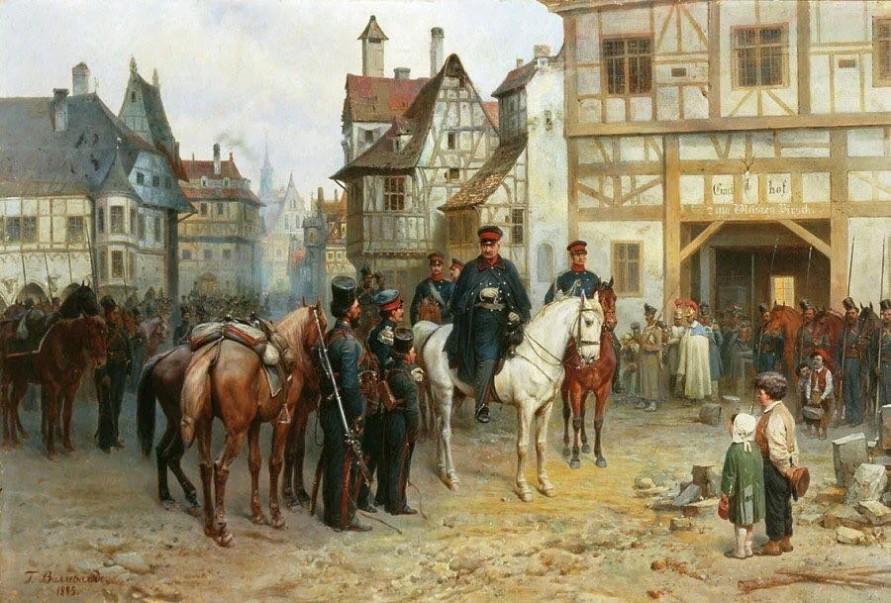 4 марта 1813 года отряд Чернышёва ворвался на улицы Берлина. Русские во второй раз взяли Берлин