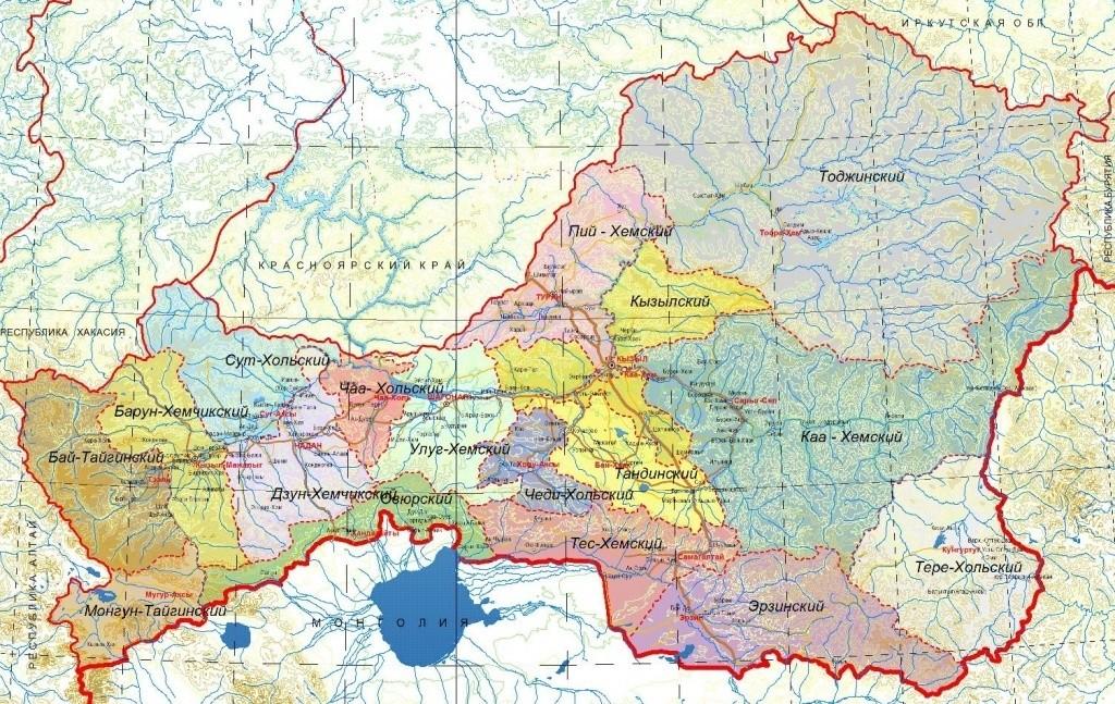 Аномальные зоны Сибири