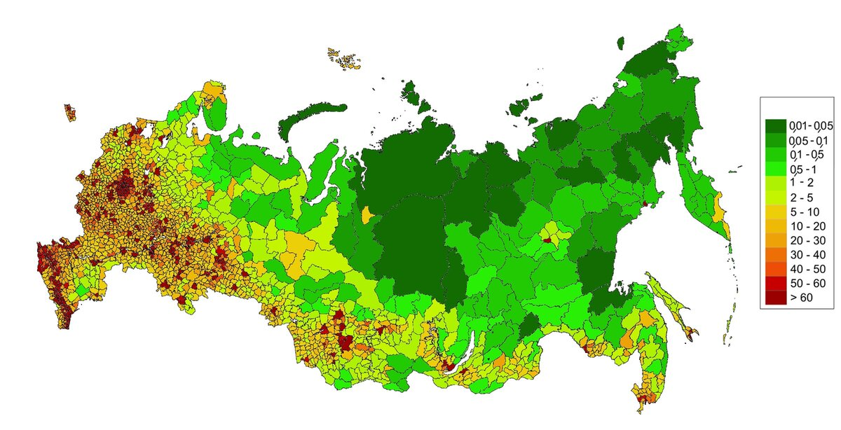 Перенос столицы в Сибирь как единственная альтернатива дальнейшего развития России