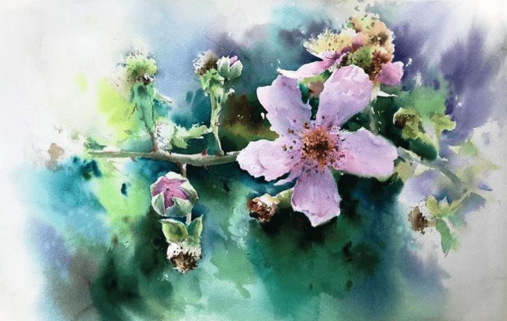 "Б. Альварез, ""Цветок"""