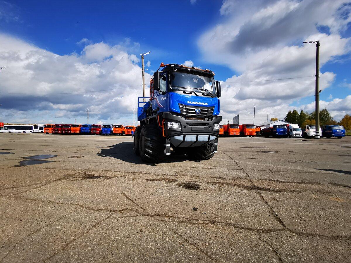 Арктический вездеход КамАЗ «Арктика» 8х8 — второй грузовик из семейства арктических вездеходов
