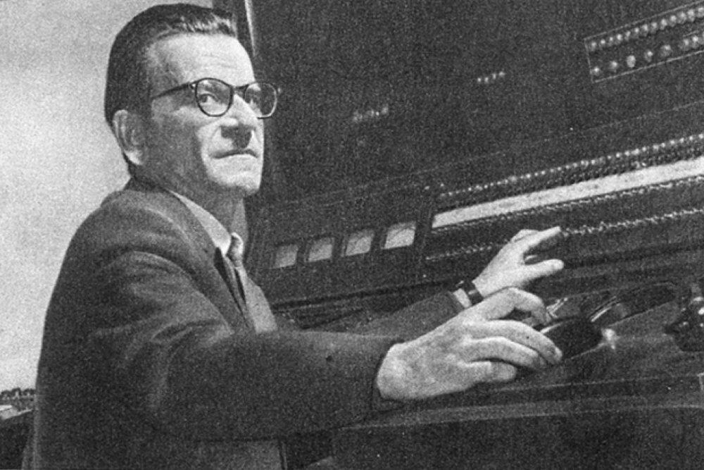 Академик Сергей Алексеевич Лебедев - создатель первого компьютера в СССР