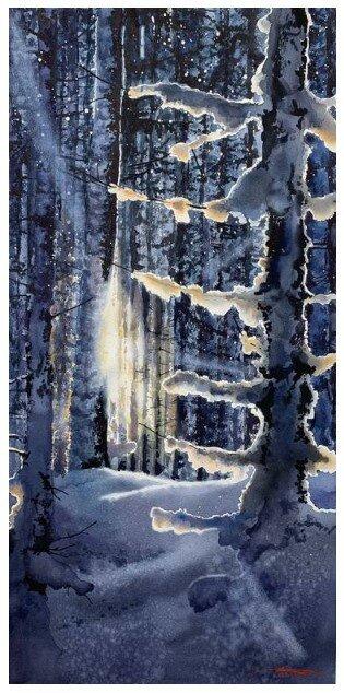 """Игорь Дубовой. """"Crystal forest"""""""