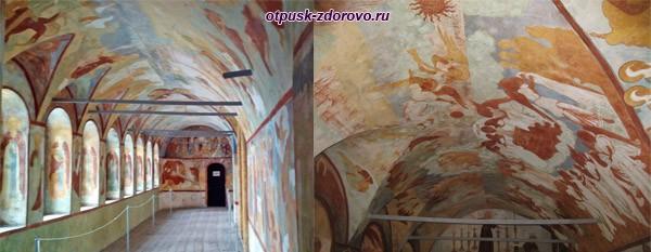 Галерея Воскресенской церкви Ростовского Кремля
