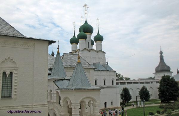 Церковь Иоанна Богослова, Музей-Заповедник Ростовский Кремль