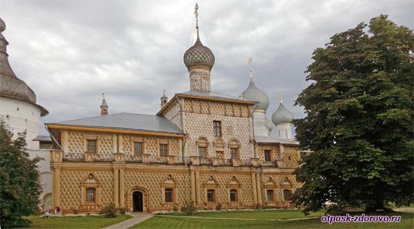 Церковь Одигитрии, Музей-Заповедник Ростовский Кремль