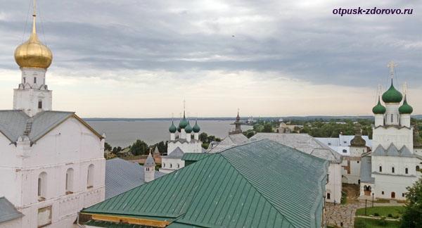 Вид на Кремль со Смотровой башни, Ростов
