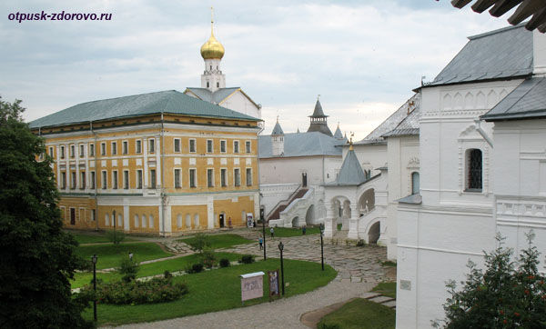 Самуилов комплекс и Красная палата Ростовского Кремля
