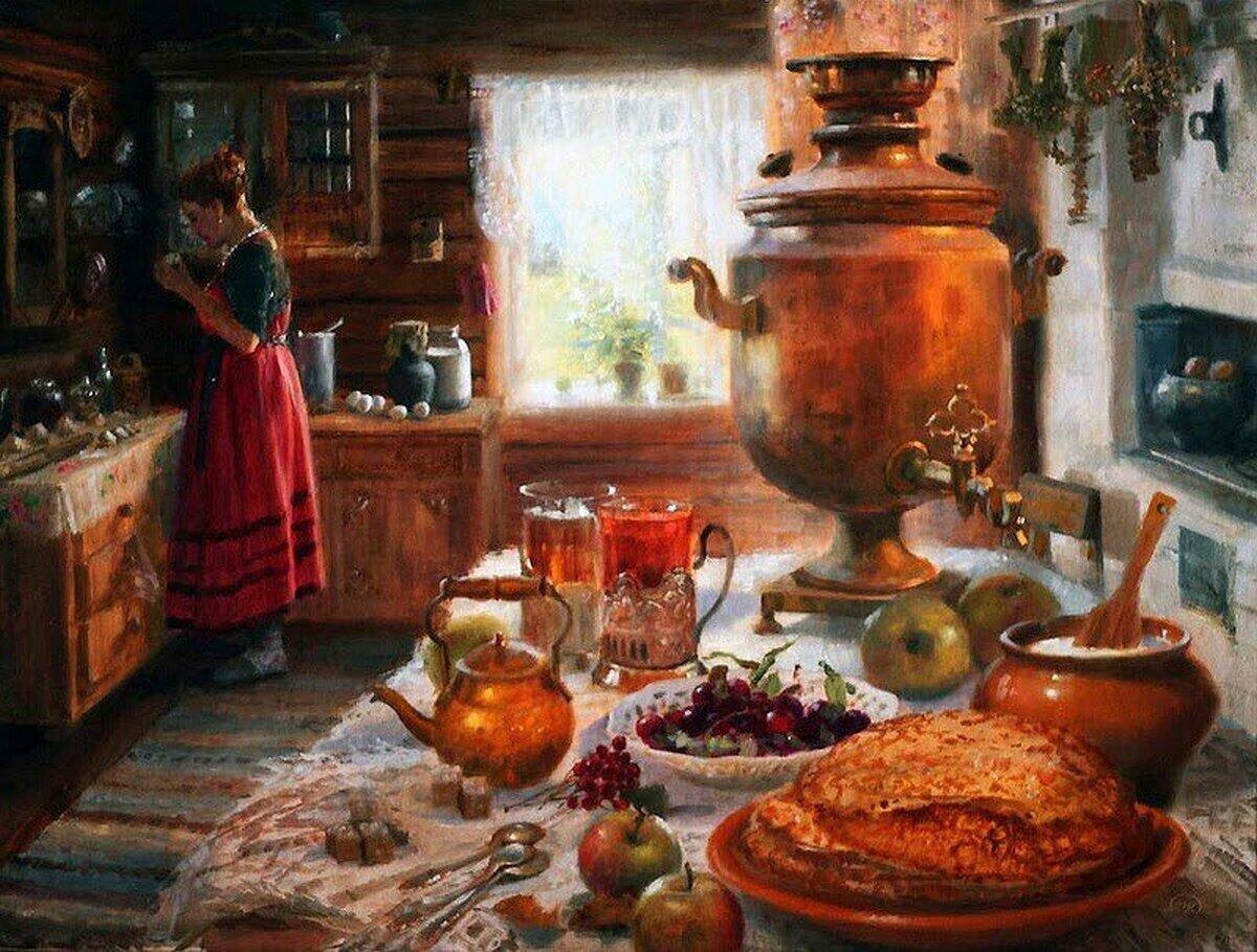 Традиции русского застолья