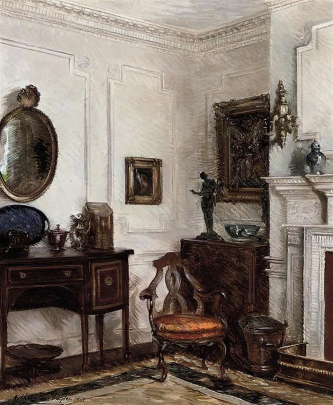 художник Альберт Шевалье Тайлер (Albert Chevallier Tayler) картины – 16