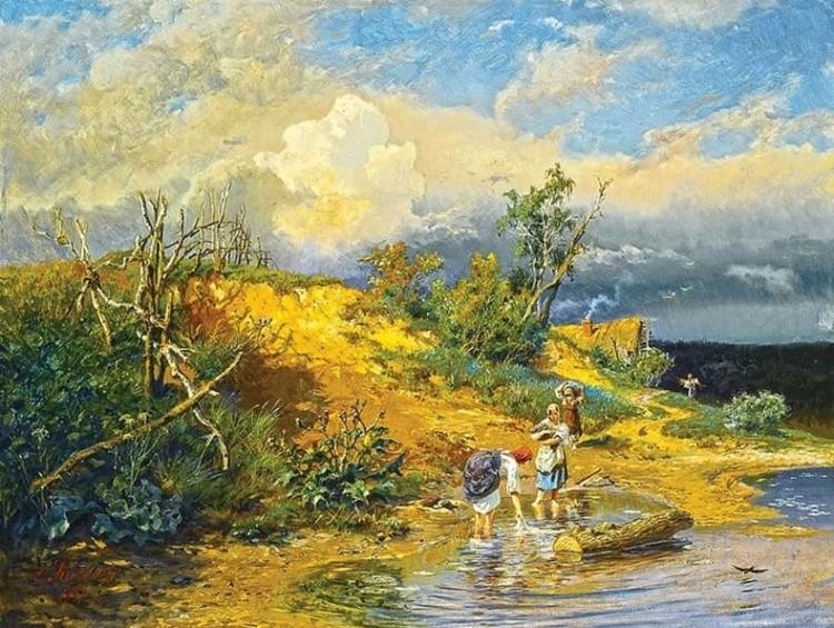 художник Александр Киселёв картины – 13
