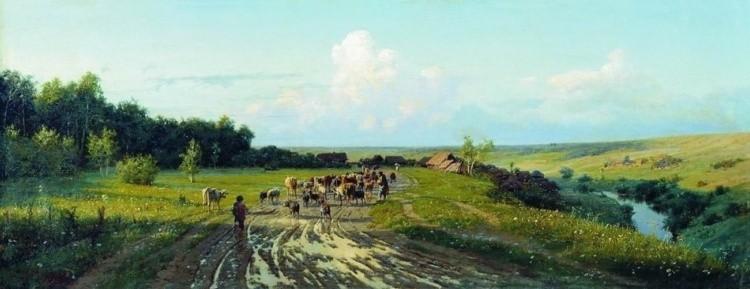 художник Александр Киселёв картины – 17