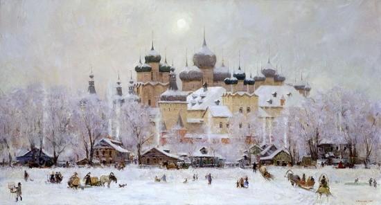 художник Александр Евгеньевич Косничев картины – 03