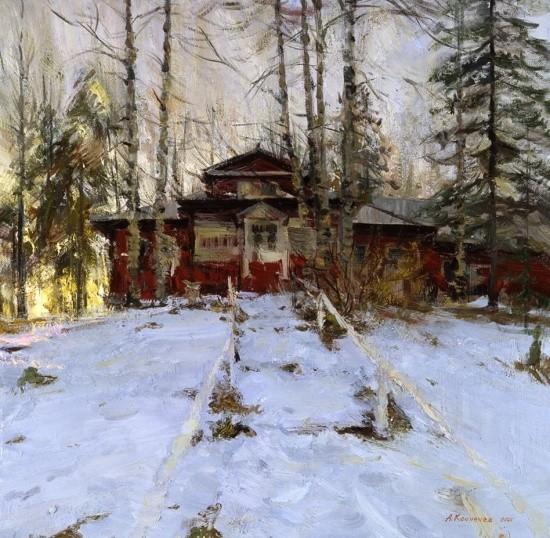 художник Александр Евгеньевич Косничев картины – 12