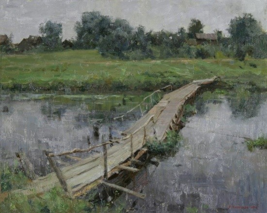 художник Александр Евгеньевич Косничев картины – 14