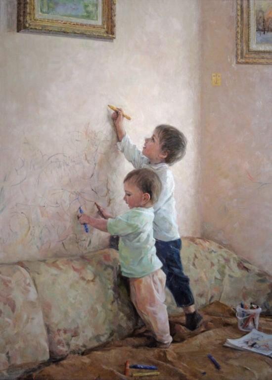 художник Александр Евгеньевич Косничев картины – 22