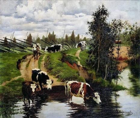 художник Алексей Степанов картины – 25