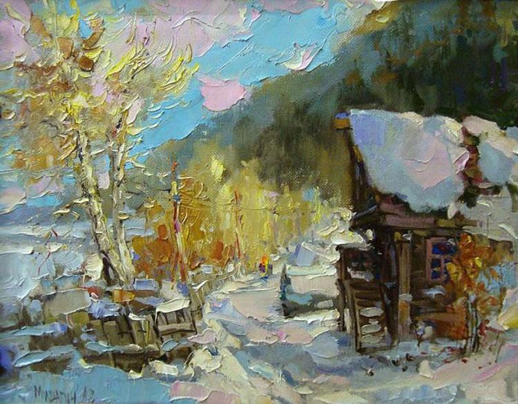 художник Андрей Мишагин картины – 12