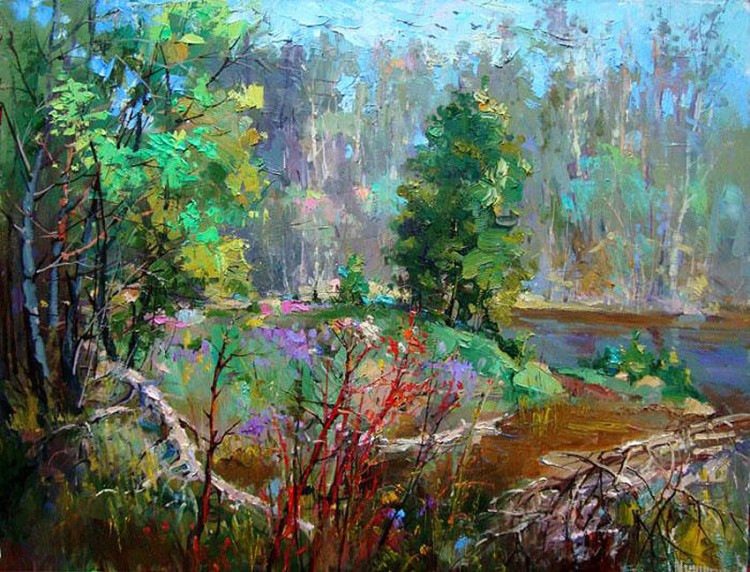 художник Андрей Мишагин картины – 19