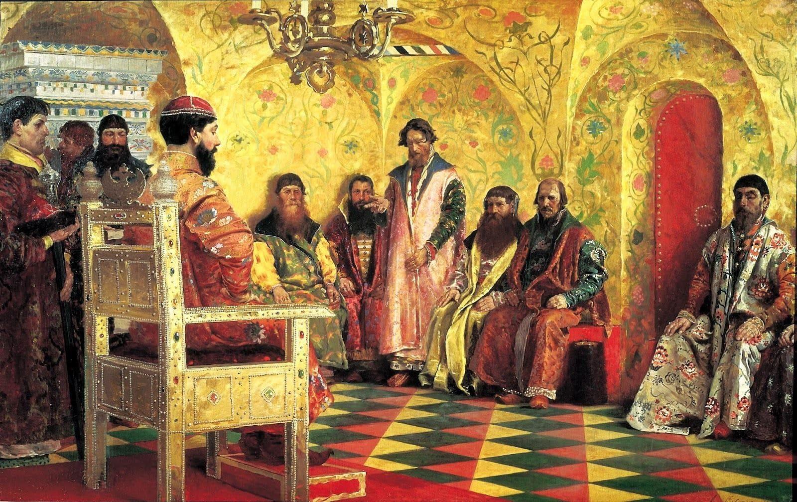 Художник Андрей Петрович Рябушкин (1861 — 1904). Картины русской жизни
