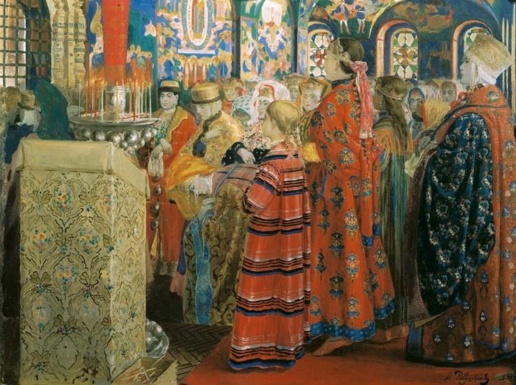 художник Андрей Рябушкин картины – 07