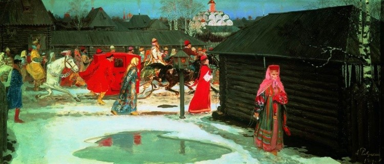 художник Андрей Рябушкин картины – 09
