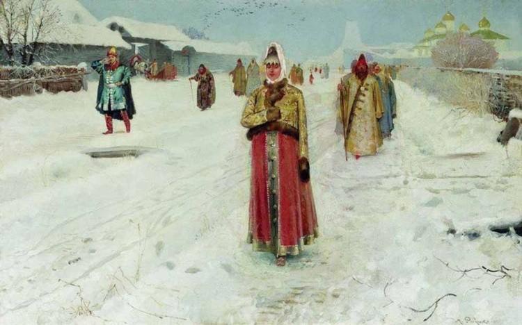 художник Андрей Рябушкин картины – 10