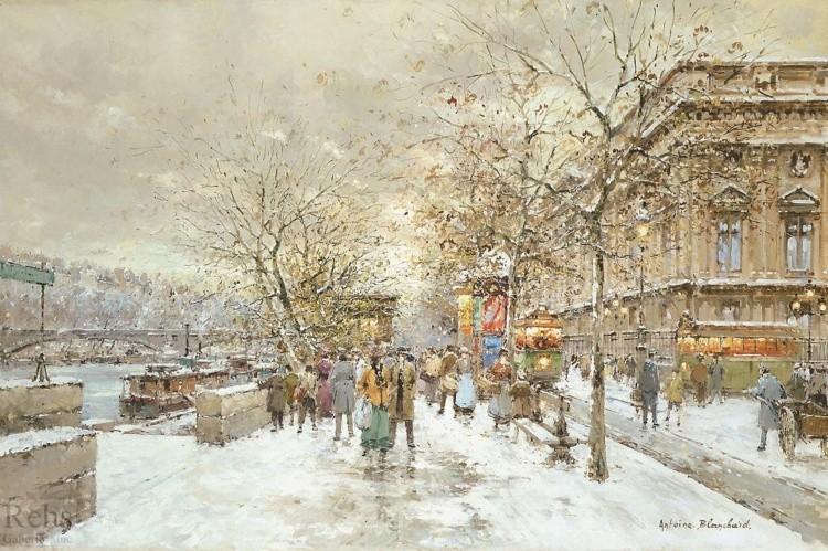 художник Антуан Бланшар (Antoine Blanchard) картины – 06