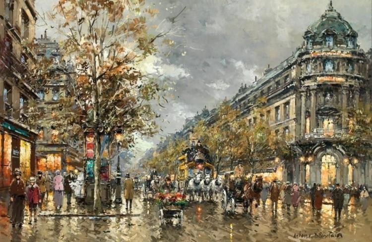художник Антуан Бланшар (Antoine Blanchard) картины – 10
