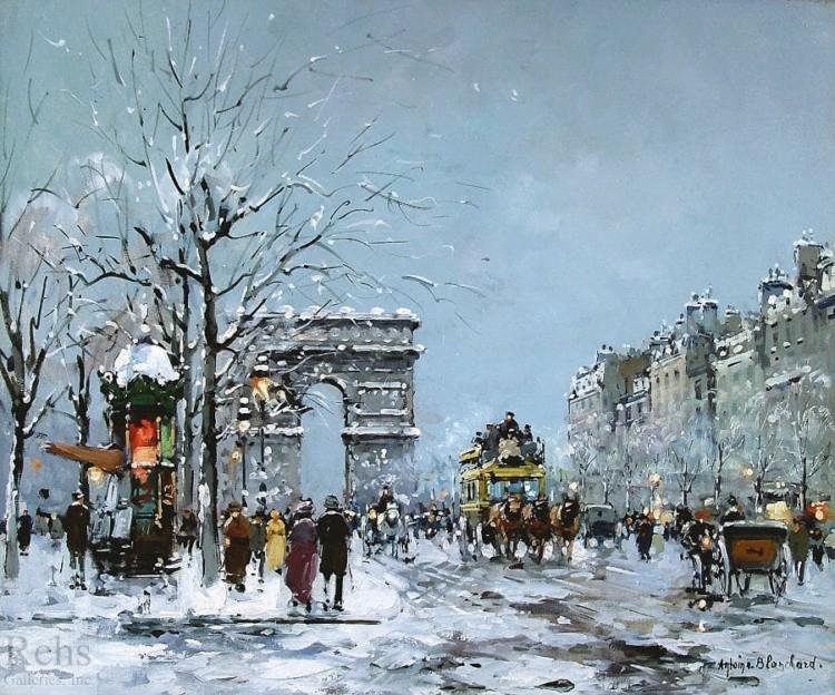 художник Антуан Бланшар (Antoine Blanchard) картины – 22