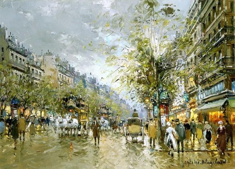 художник Антуан Бланшар (Antoine Blanchard) картины – 25