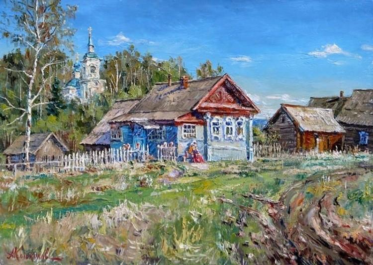художник Антон Колоколов картины – 02