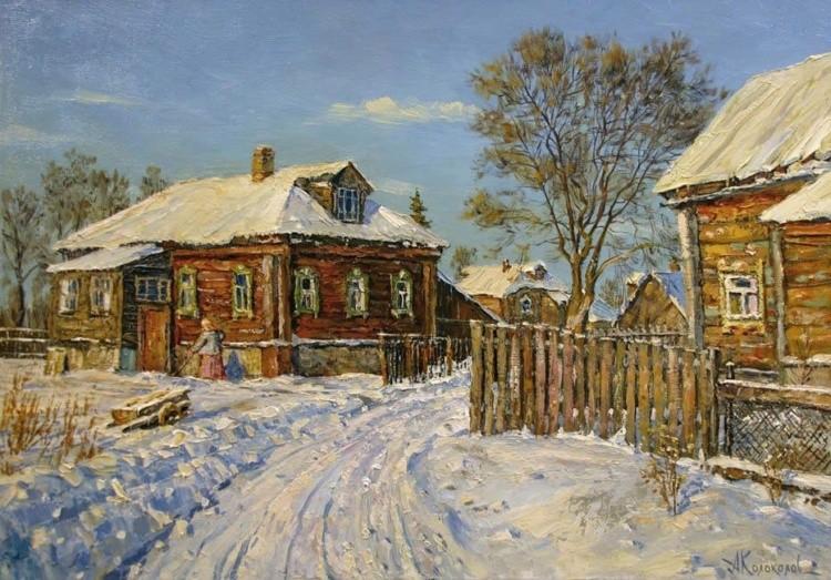 художник Антон Колоколов картины – 03